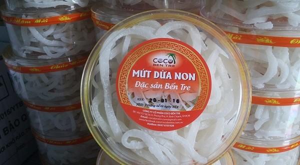 Mứt Dừa Non COCO BẾN TRE