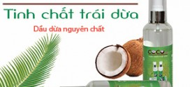 Tinh dầu dừa – tinh chất trái dừa